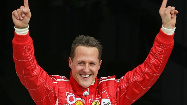 """""""Schumacher é uma pessoa diferente daquela que recordamos das pistas"""""""