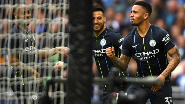 City bate Brighton e vai à final da Copa da Inglaterra