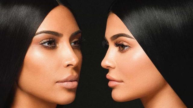 Kim Kardashian e Kylie Jenner anunciam lançamento de novo perfume