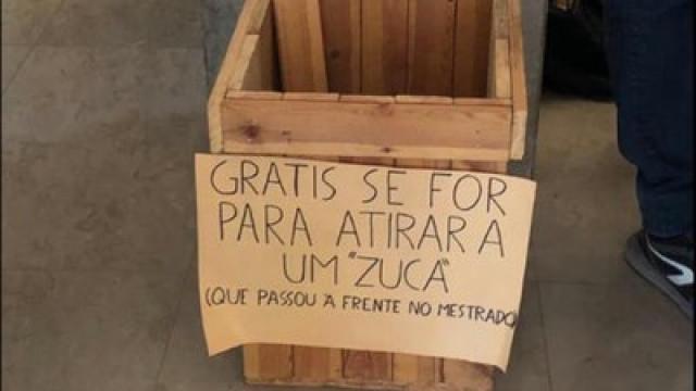 Universitários pedem para jogarem pedras em brasileiros em Lisboa