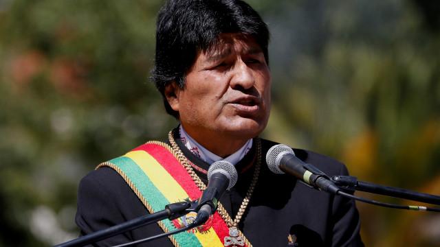 Presidente da Bolívia diz que está a ser preparado golpe de Estado