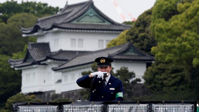 Objeto voador suspeito é visto nas proximidades do Palácio Imperial