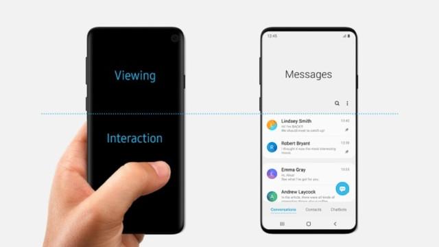 Minimalismo e foco: a nova interface da Samsung