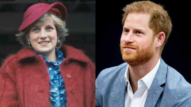 Harry recorda a mãe, Diana, no dia em que comemoraria o seu aniversário