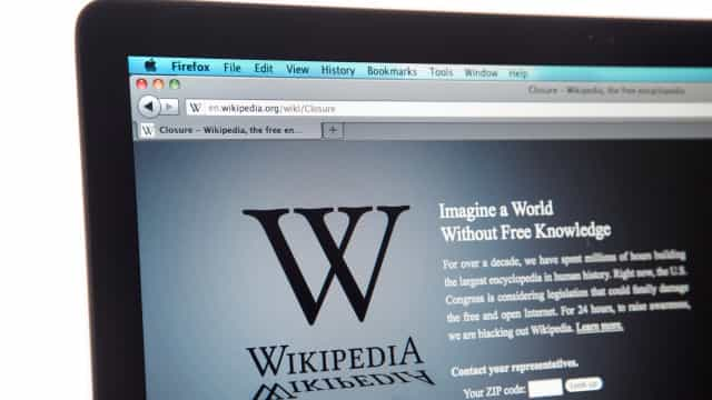 China bloqueou todas as versões do Wikipedia