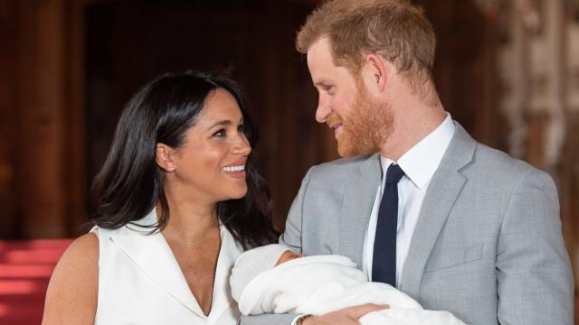 Meghan posta mensagem de aniversário ao príncipe Harry