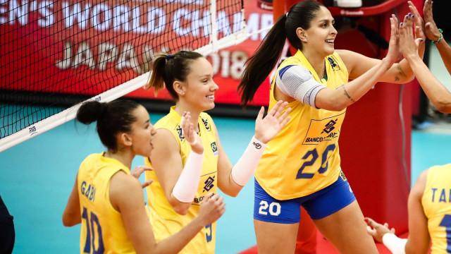 Seleção feminina de vôlei cai para 6º na Copa do Mundo