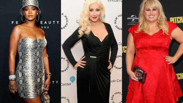 As celebridades que se orgulham das suas curvas