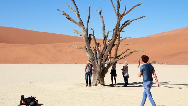 As belezas naturais que estão sendo destruídas pelos turistas