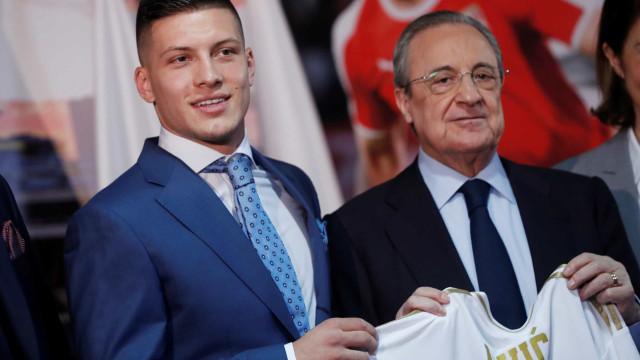 Luka Jovic chega ao Real Madrid: 'Sou o garoto mais feliz do mundo'