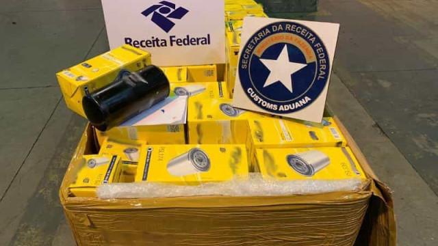 Receita localiza 110 kg de cocaína em carga de exportação em Guarulhos