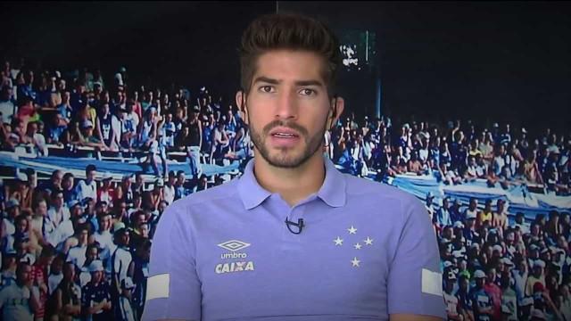 Cruzeiro oficializa saída de Lucas Silva
