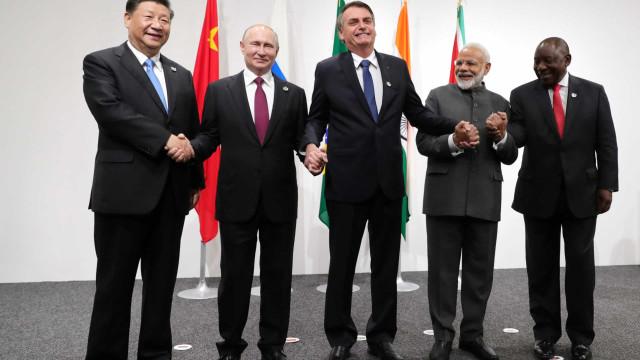 Após reunião, Brics dizem estar comprometidos com Acordo de Paris