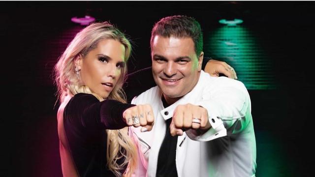 Taty Zatto e Marcelo Braga são eliminados do 'Power Couple'