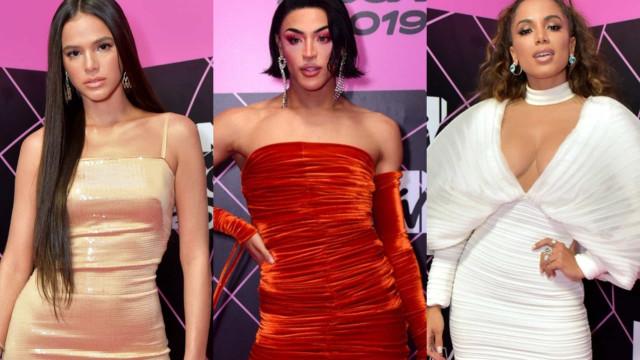 Veja o look dos famosos na entrega de prêmios 'MTV MIAW'
