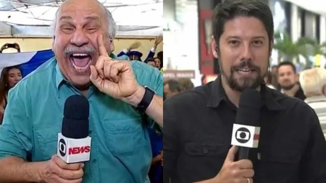 Jornalistas Márcio Canuto e Phelipe Siani deixam a Globo