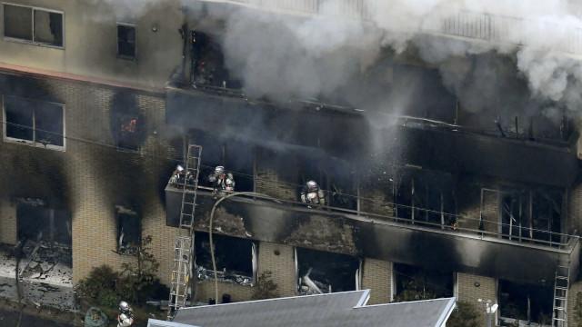 """Suspeito de ataque no Japão gritou: """"Vocês vão morrer"""""""