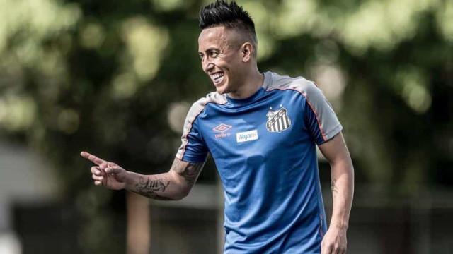 Santos não paga por Cueva, mas trabalha com time russo por indenização