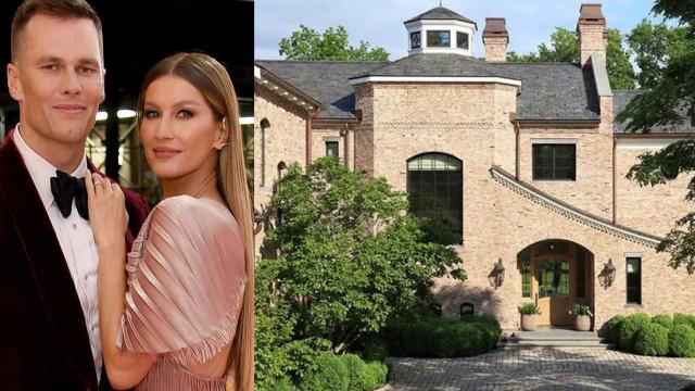 Gisele Bündchen e Tom Brady colocam mansão à venda por R$ 165 milhões