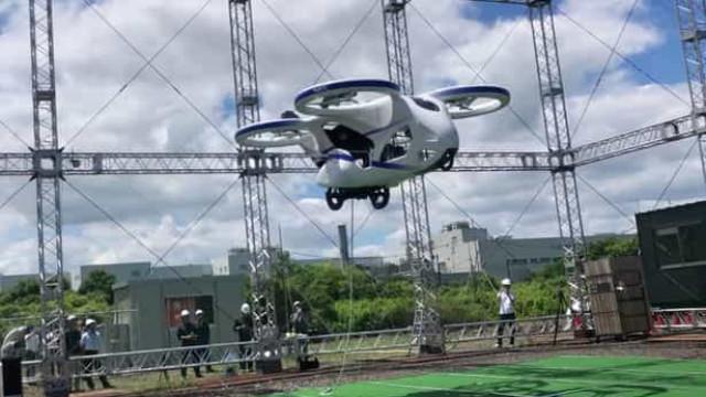 Carro voador japonês pode chegar ao mercado nos próximos anos