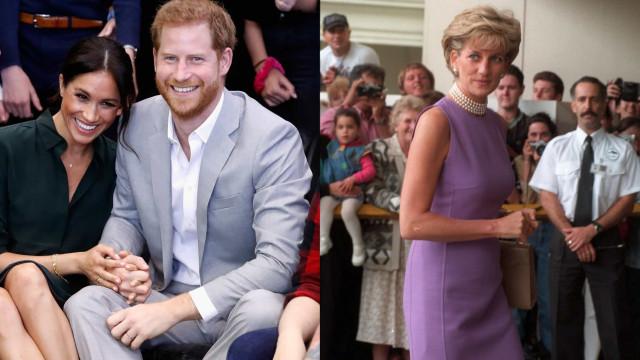 Príncipe Harry segue os passos da mãe numa visita a Angola