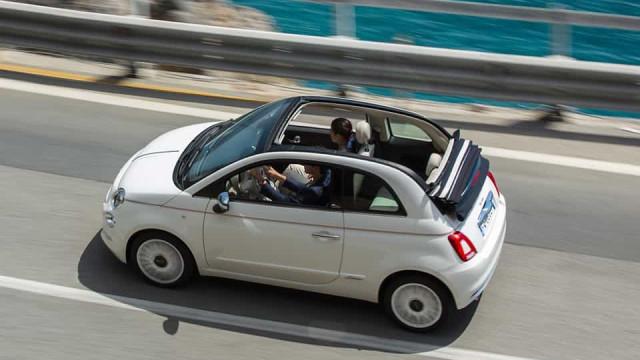 Já viu a edição especial 'Dolcevita' do Fiat 500? Já está em Portugal
