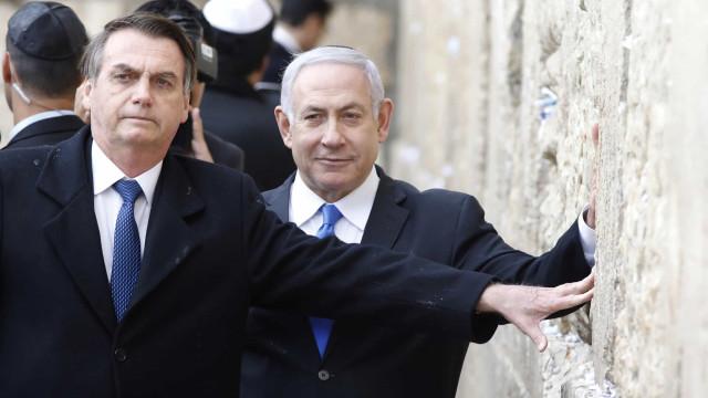 Brasil aceita ajuda de Israel para apagar incêndios