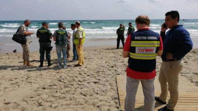Piloto da Força Aérea espanhola morre após avião cair no Mediterrâneo
