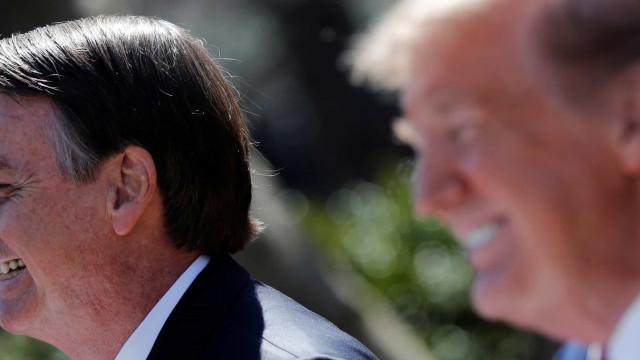 Bolsonaro diz que participará de jantar com Trump nos EUA
