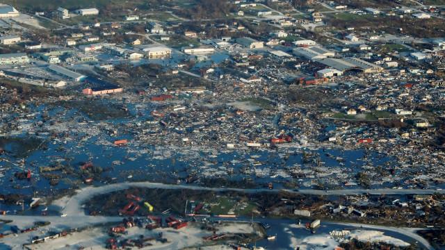Dorian deixa devastação de gerações no Caribe