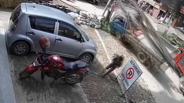 Falha nos freios em caminhão causa grave acidente