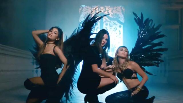 Miley Cyrus, Ariana Grande e Lana Del Rey juntas em música