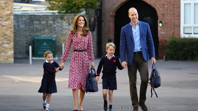 Kate Middleton preocupada com a saúde mental dos filhos