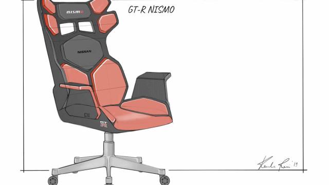 Nissan desvenda 'concepts' para cadeiras de videogames