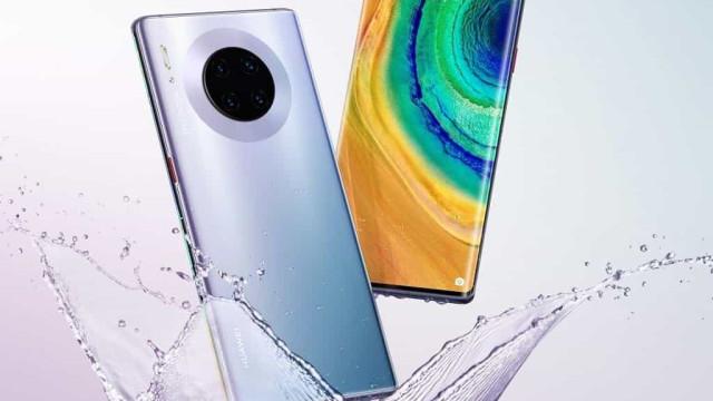 Huawei apresenta o novo produto, o Mate 30 Pro