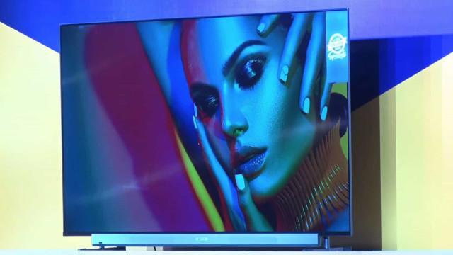 Motorola revelou a sua primeira televisão