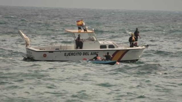 Avião da Força Aérea espanhola cai no mar ao largo de Múrcia