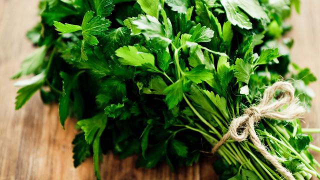 Cinco benefícios da salsa e todas as propriedades deste alimento