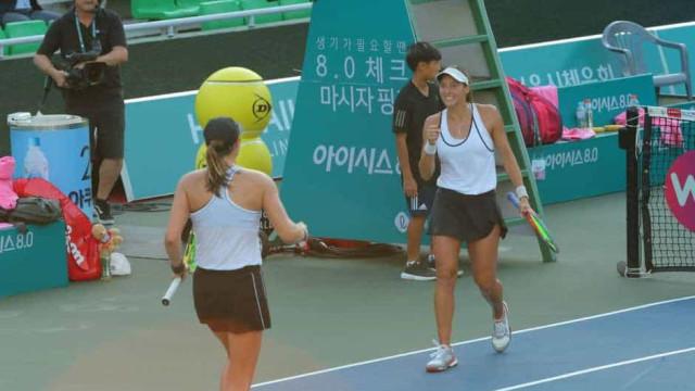 Brasileira Luisa Stefani vai disputar a final do WTA