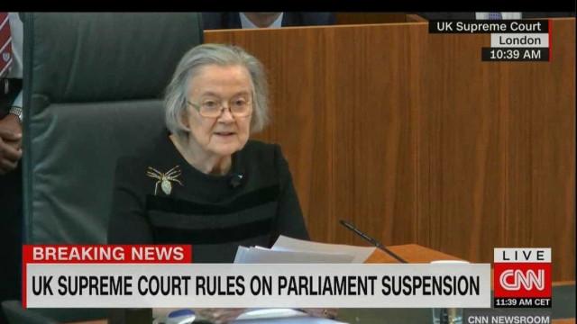 Supremo Tribunal britânico declara ilegal suspensão do Parlamento