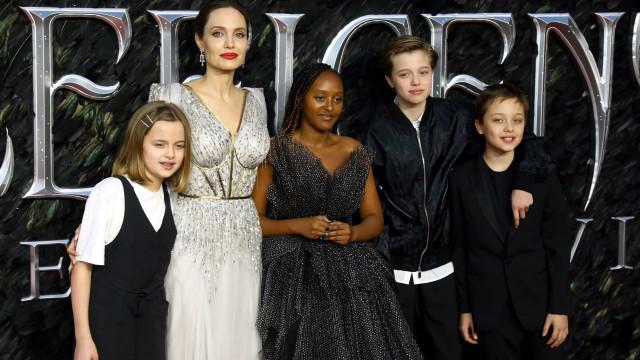 Filhos de Angelina Jolie não querem seguir carreira dos pais
