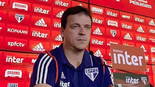 Diniz admite atuação ruim do São Paulo na derrota para o Cruzeiro