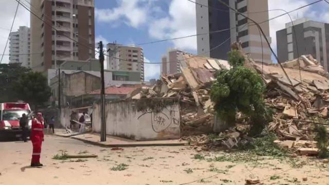 Número de mortos em desabamento em Fortaleza sobe para 5