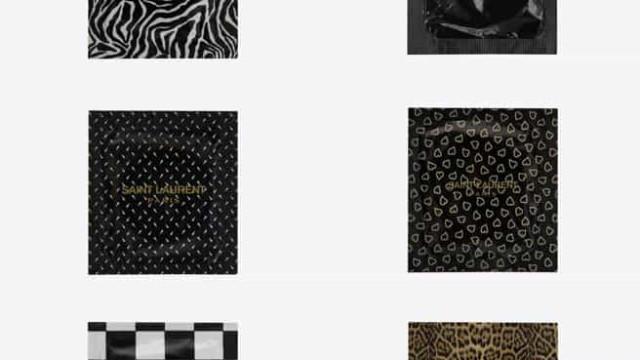 Proteção de luxo. Yves Saint Laurent lança linha de preservativos