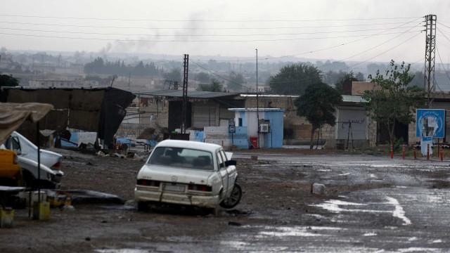 Tropas das Forças Democráticas da Síria abandonaram Ras al-Ain