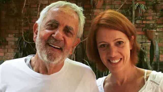 Bel Kutner posta foto de Paulo José, que sofre de Mal de Parkinson