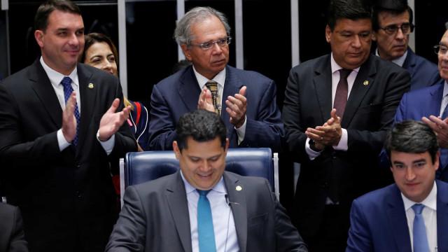 Guedes: 'Estamos muito felizes; agora vamos para o pacto federativo'