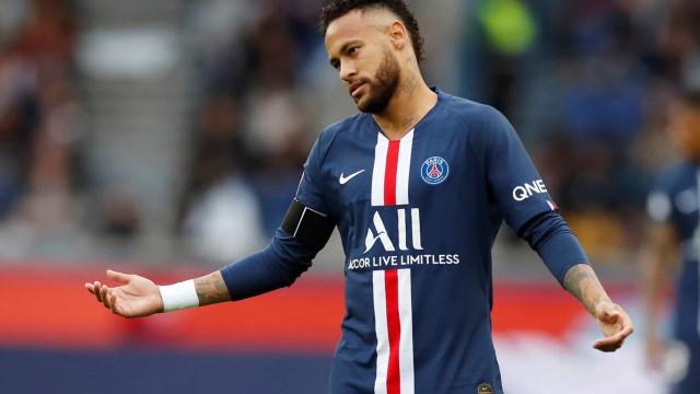 Paris Saint-Germain pode forçar Neymar a interromper férias