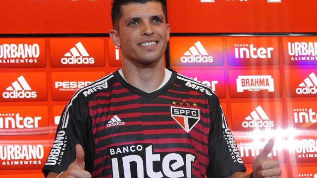 Tiago Volpi se diz que não sabe se ficará no São Paulo em 2020