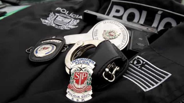 Polícia faz ato contra Doria após anúncio de reajuste salarial